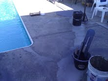 White Rock BC, Pool Deck